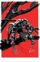 Wolverine Vampire VariantColor by mikemayhew