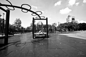 Abandoned Playground I by DreamsOnSand