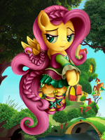 Through the Ages: Fluttershy by BeamSaber
