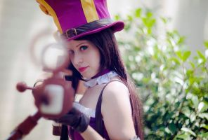 League of Legends - Caitlyn by Ichimouto