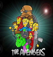 The Avengers by tripperfunster