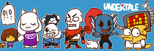Undertale Banner by Cookie-and-her-foxes