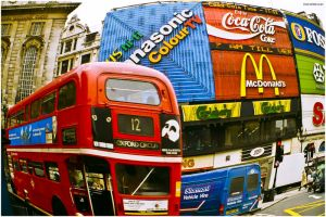 Piccadilly Circus by DavidWegley