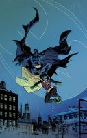 BATMAN and ROBIN colour by DeclanShalvey