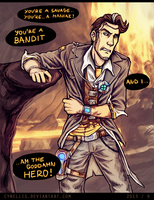 Handsome Jack: The End by cynellis