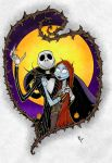 Nightmare Before Christmas print by sketchheavy