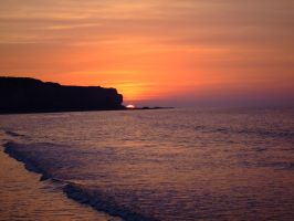 Sunset Normandy 004 by Maxime-Jeanne