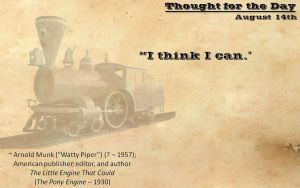 Thought for the Day - August 14th by ebturner