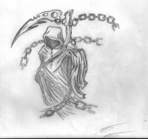 Grim Reaper Tattoo design by animelover12281