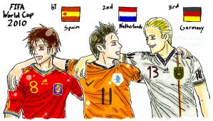 APH: WC 2010 1st 2nd 3rd Place by FrauV8