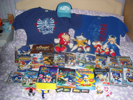 My Updated Sonic Collection by ChrissieGirl