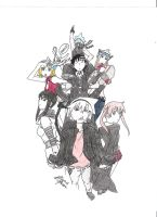 Soul Eater Characters by Dragonlover1356