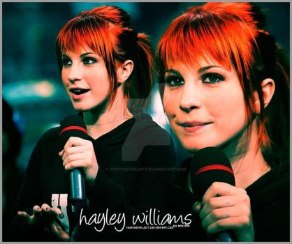 Hayley Williams by thirtystmxjstt