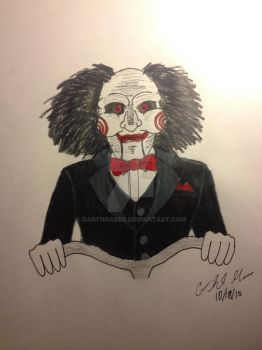 Billy the Puppet from Saw by DarthGaber
