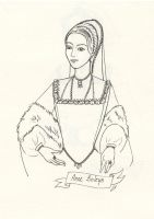 Anne Boleyn by Emy4ART