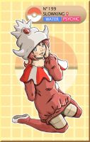 Gijinka Pokemon 199 Slowking by saurodinus