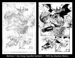 Batman One pg4 by Greg Capullo by GlauberMatos