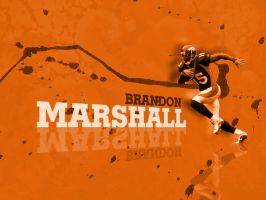 Brandon Marshall by cotrackguy