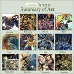 2011 summary of art by Loony-Lucy