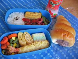 Bento+Bread by sake-bento