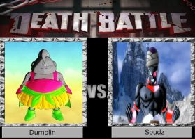 DEATH BATTLE Dumplin vs Spudz by El-Drago-800