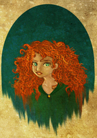 Brave : Princess Merida by trishna87
