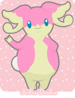 Audino by KFoxDoodles