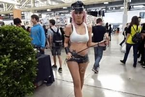 Poison cosplay in movement - GIF by JudyHelsing