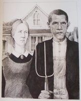 American Gothic 2009 by DevilsHaven