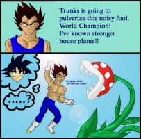 STRONGER house plants by Dbzbabe