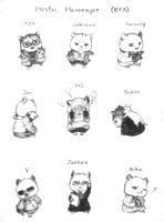 Mystic Messenger Hamster Version by YSLLL