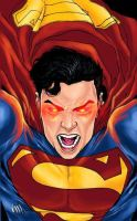 Superman Rage by ryjalon by wrathofkhan