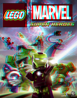 Lego Marvel Super Heroes in 3D Anaglyph by xmancyclops