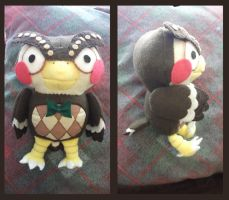 Blathers Plush by thesqueaky