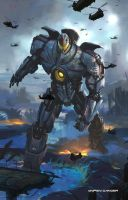 Gipsy Danger by derickramzess