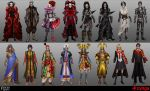 Vampire Wars costume designs by jubjubjedi
