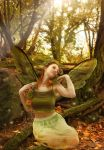 In the woods by Nawheera