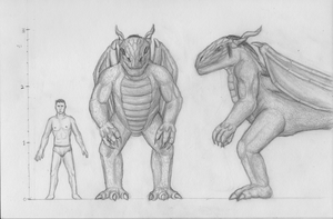 Draconis - scale and proportions by Spacer176