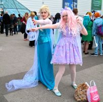 Elsa and a Lolita by ZeroKing2015