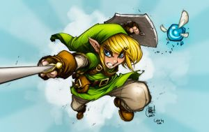 Link by JoeMadX, Colors by me by NikiVandermosten