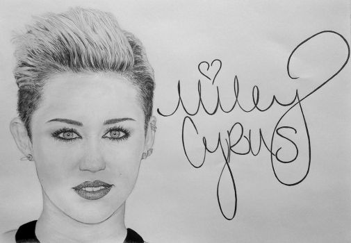 Miley Cyrus by Damyanov