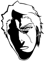 Aizen Face by pp2