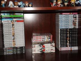 Manga Collection 3-15-2013 by OppaFaustusStyle