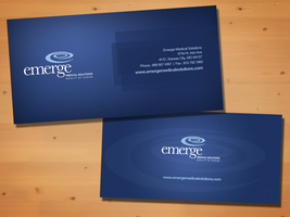 Emerge Business Card by nikkibryan