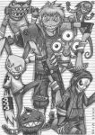 Team Sinister (Black and White) by BuRaiYen4880