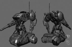 Concept art for the T1 2 by aaronsimscompany