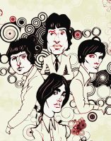 The Kinks by gabrio76