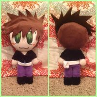 Gary Oak Plushie by Technoloaf