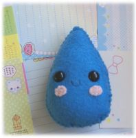 Raindrop Pincushion by Keito-San