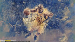 Kobe Bryant Black Mamba Wallpaper by Angelmaker666